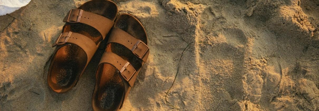 sandalen voor steunzolen